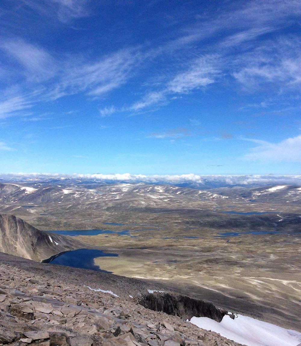 Dovrefjell Snøhetta view