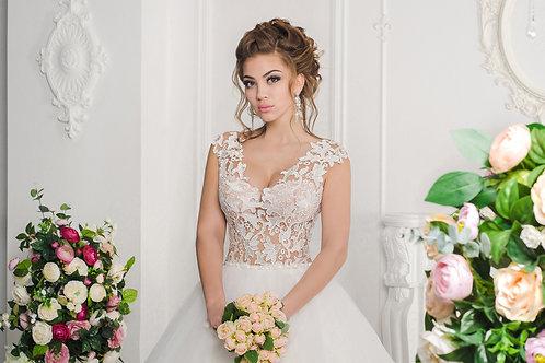 Cвадебное платье 0292