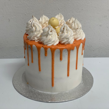Dripped Carrot Cake