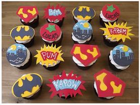 Cupcakes Super Heroes