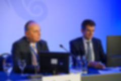 Prof Dr. Dieter G. Bussen (links) & Dr. Alex Furtwängler