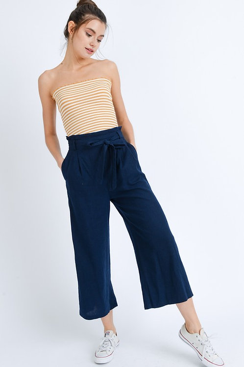 Lindy Navy Flow Pant