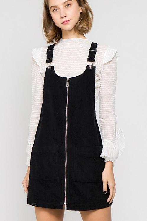Charlotte Overall Corduroy Dress