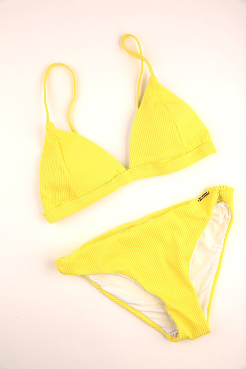 Vibrant Yellow Triangle Bottoms