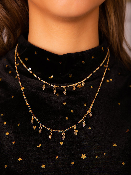 Double-Layer Gold Necklace