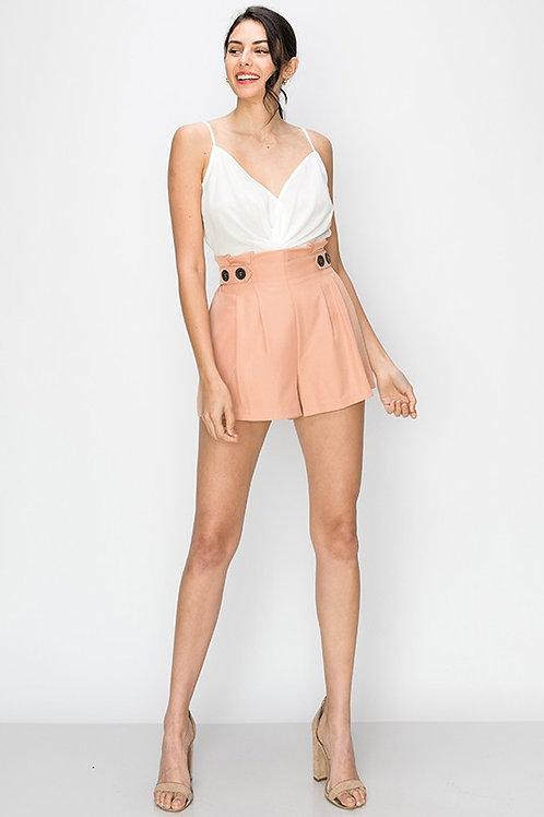 Bea Button Shorts