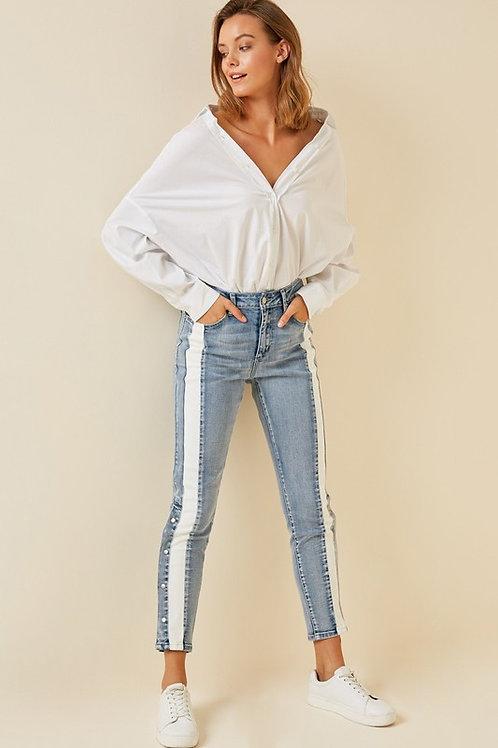 London Stripe Jeans