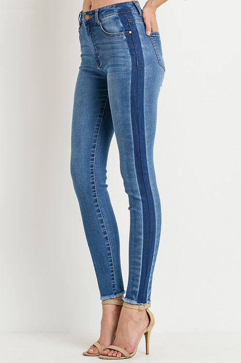 Portland Striped Jeans