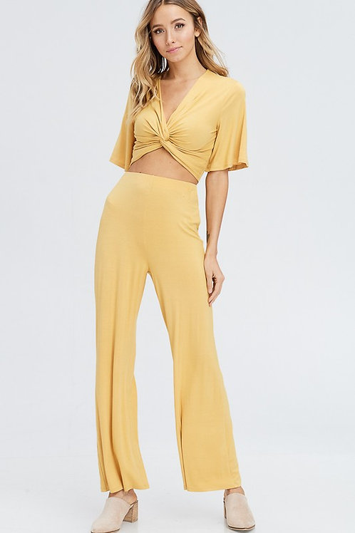 Bindi Yellow Set - Top Only