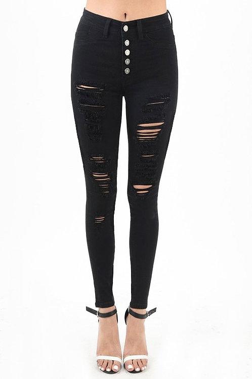 Jess Black Jeans