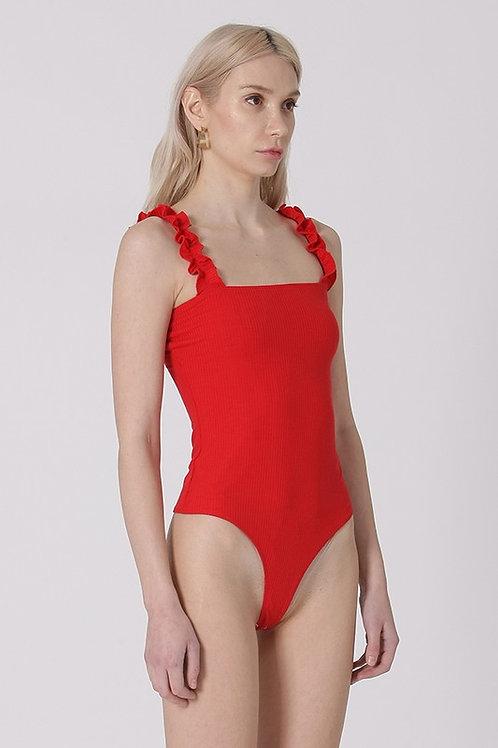Catarina Ruffle Bodysuit