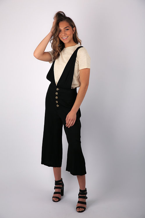 Beach House Button Jumpsuit