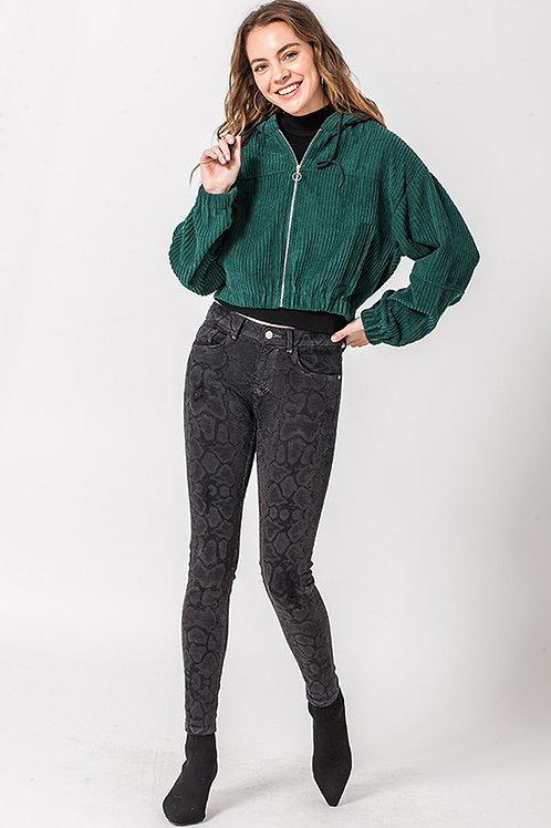 Stella Corduroy Zip Jacket