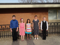 Youth Honors Recital 2014 McSweeny's Students