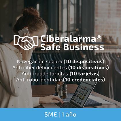 Ciberalarma® Safe Business SME (Protección total PYMEs | 1 año)