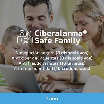 Ciberalarma® Safe Family (Protección total para la familia) (1 año)