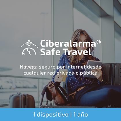 Ciberalarma® Safe Travel (1 dispositivo / 1 año)