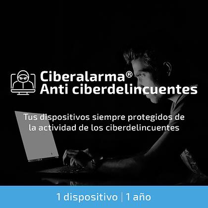 Ciberalarma® Anti ciberdelincuentes (1 dispositivo | 1 año)