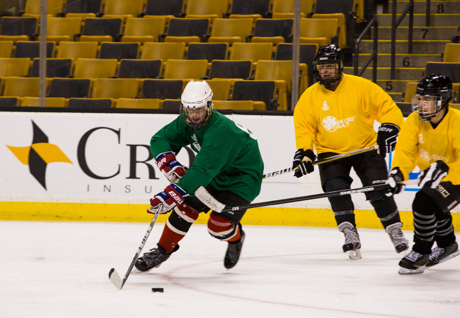 Tuukka Dump Hockey @ TD Garden