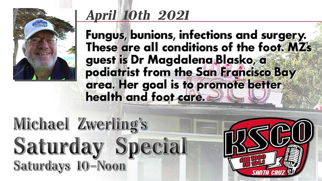 Magdalena Blasko, DPM, Inc. on KSCO Saturday Special