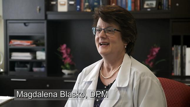 Magdalena Blasko, DPM, Inc. on CBS