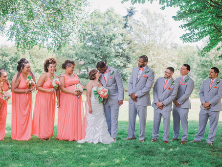 Diana + Demetrice's Summer Wedding in Seattle