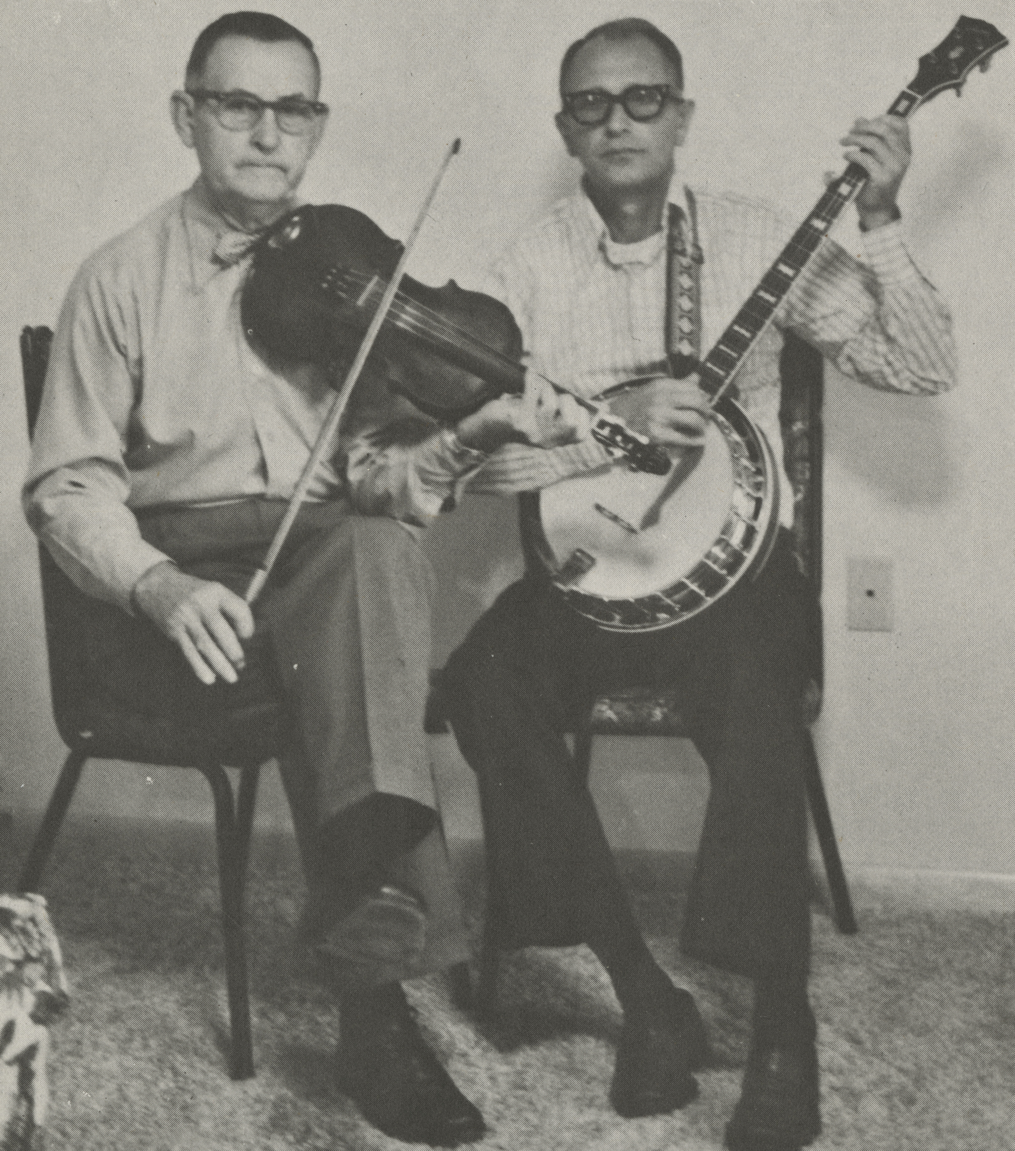 W.L. Gregory & Clyde Davenport
