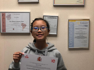 You've worked so hard for this. Congrats Yui Ngai!