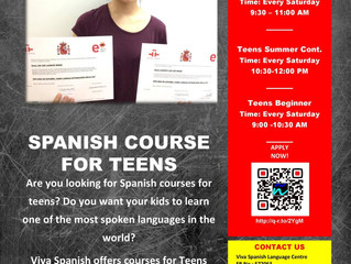 SPANISH COURSE FOR TEENS