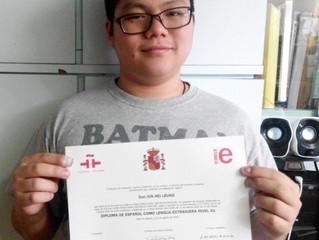Felicidades Jun Hei Leung!