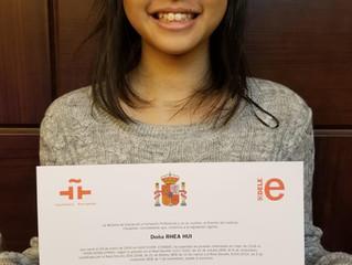 Felicidades Rhea Hui!
