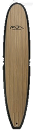 Dolsey Poly carbonate and wood  surfboard, for lessons surfing. Great boards for rentals, lessons,  and performance boarding. 7 to 9'1  Private label available . 800 969 7473
