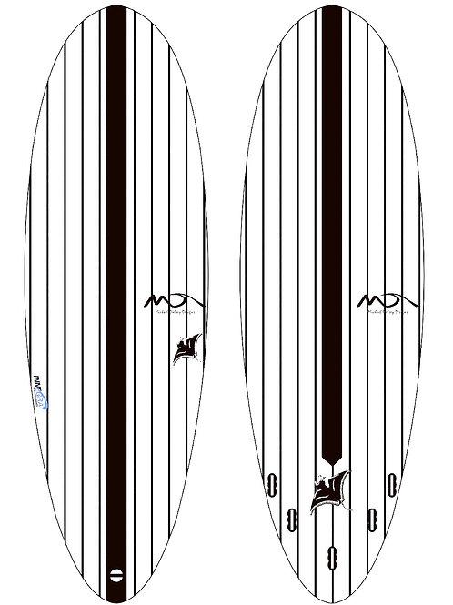Ray - Epoxy over Innegra surfboard