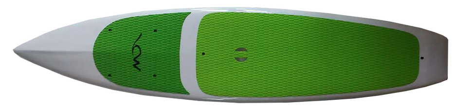 The Tracker SUP (stand up Paddleboard) features a special construction with kevlar reinforcement and a polycarbonate super durable outer skin. Stable, good looking, and multi functional.
