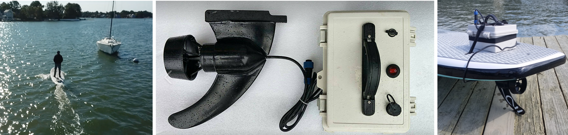 Dolsey Levitator electric foil board
