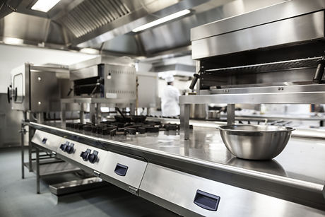 Work surface and kitchen equipment in pr