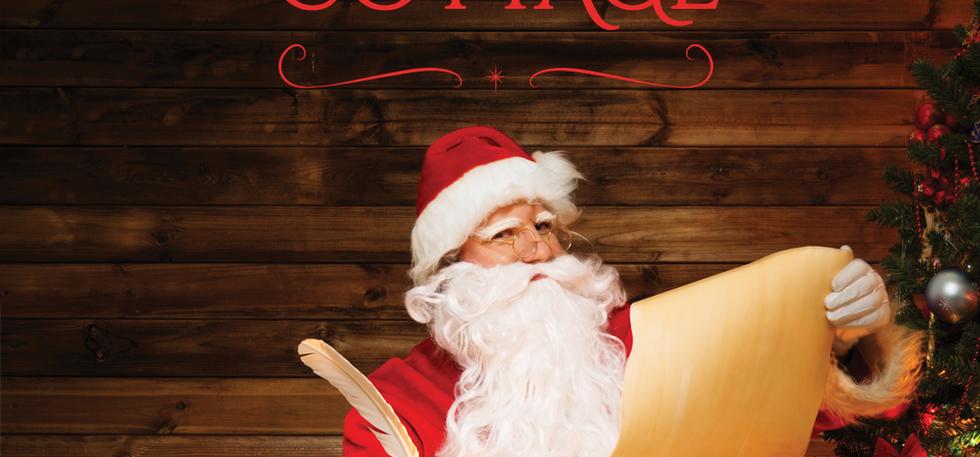 Santa's Cottage Poster
