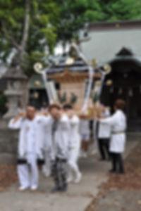 晩香坡 櫻會神輿 完成渡御