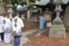 晩香坡 櫻會神輿 完成式典風景