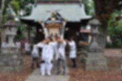 晩香坡 櫻會神輿 完成渡御風景
