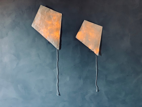 Gray Lighting Kite - Size S/L
