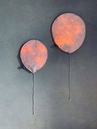 Blush Pink Lighting Balloon - Size S/L