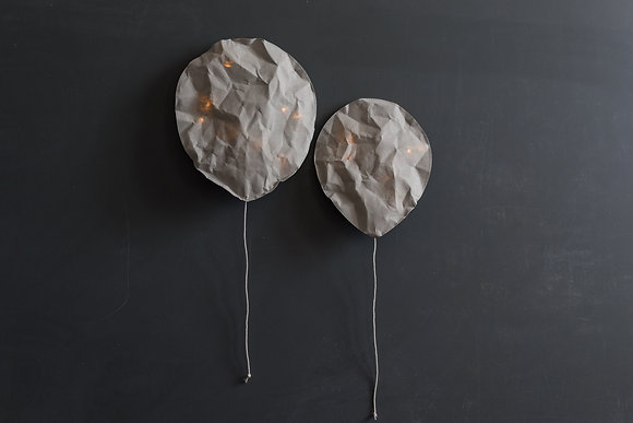 Natural Grey Lighting Balloon - Size L