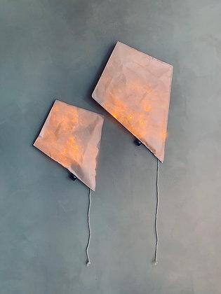 Pink Lighting Kite - Size S/L