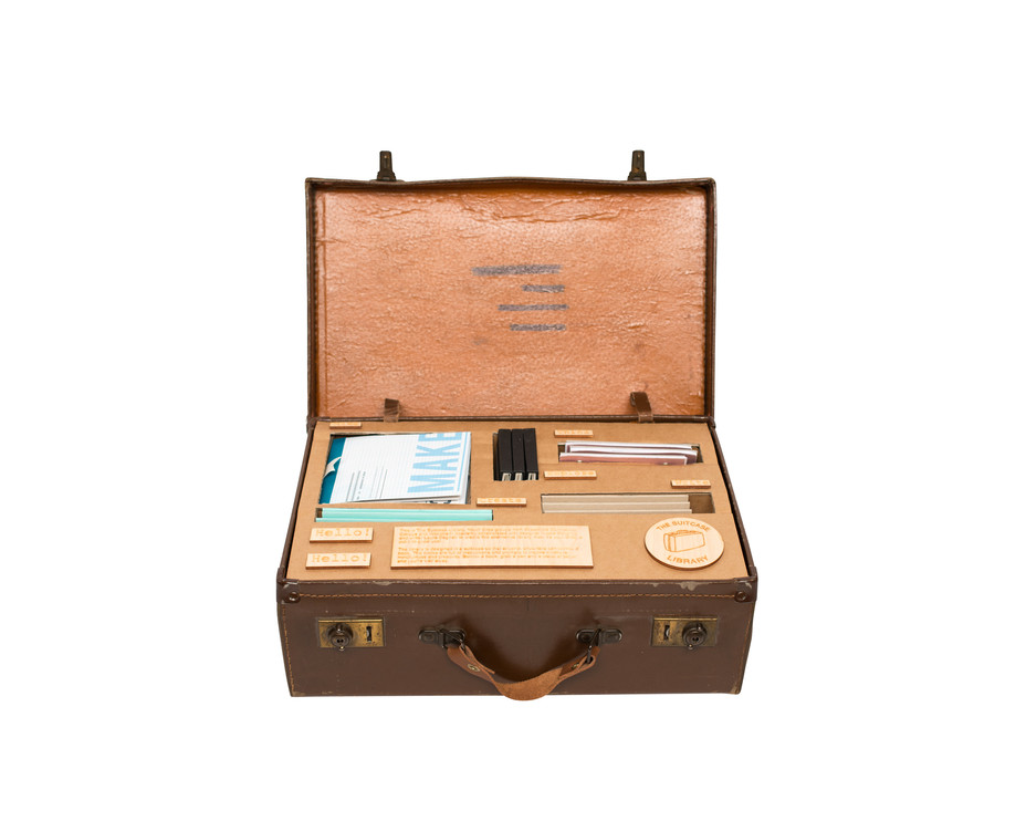 Youth Cree Suitcase Library