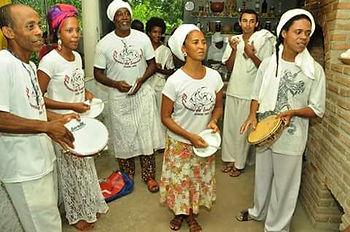 Roda de Samba no Quilombo em Passeio em Salvador