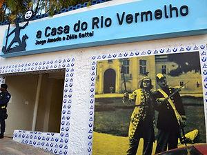Passeio em Salvador-Casa do Rio Vermelho