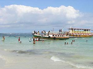 Passeio em Salvador-Ilha de Maré