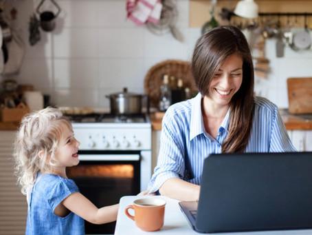 Our top tips for working from home alongside your children