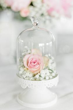 Mariage Fleurs Table